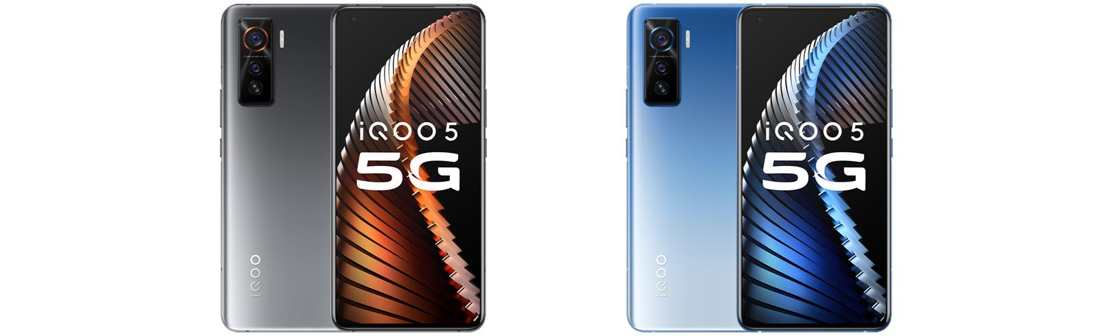 "Vivo unveiled the iQOO 5 and iQOO 5 Pro with Snapdragon 865, 6.56"" AMOLED displays"