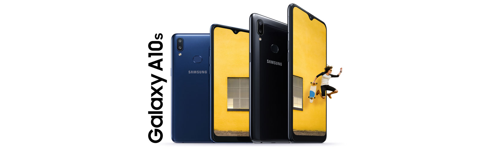 Samsung Galaxy A10s goes official with a 6.2-inch HD+ Infinity-V display