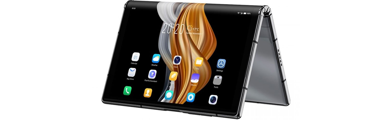 """Royole Flexpai 2 is unveiled with a 7.8"""" Cicada Wing 3S display and a better hinge"""