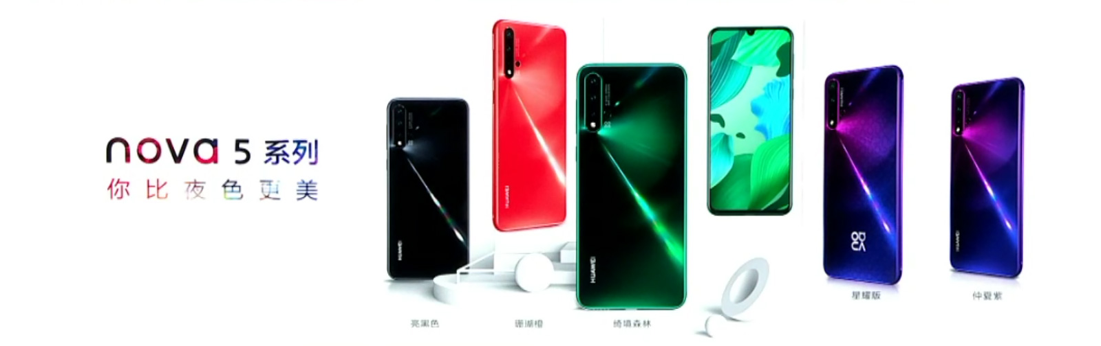 Prices and availability of the Huawei nova 5 series and the M6 tablet series