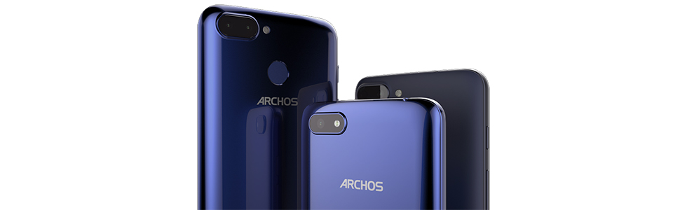 Archos unveils the Core 55S, Core 57S and the Core 60S