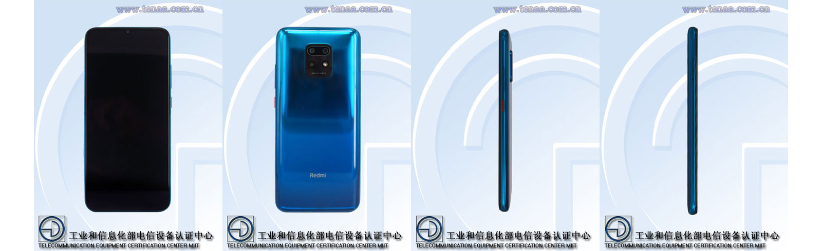 Redmi Note 10 with model code M2004J7AC appeared on TENAA