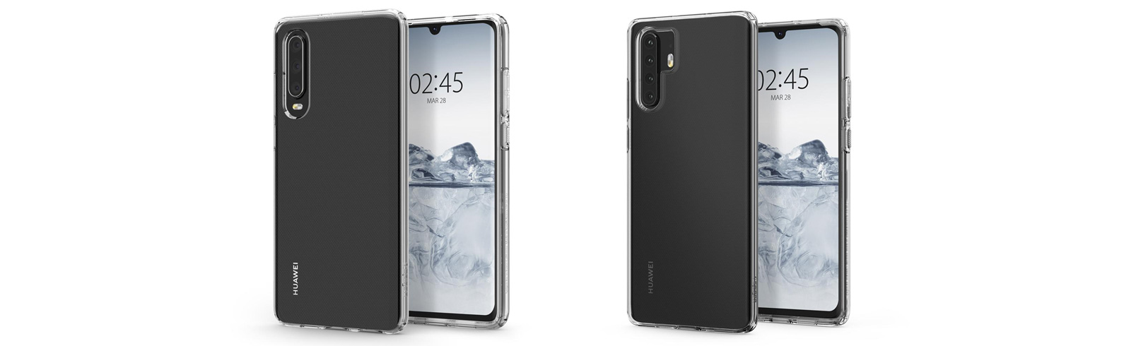 Huawei P30 and Huawei P30 Pro leak via Spigen cases renders, will be unveiled on March 28th probably