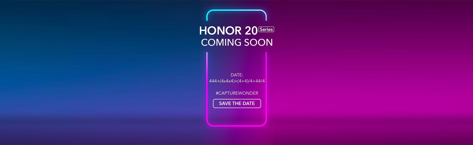The Honor 20 series global launch is scheduled for May 21