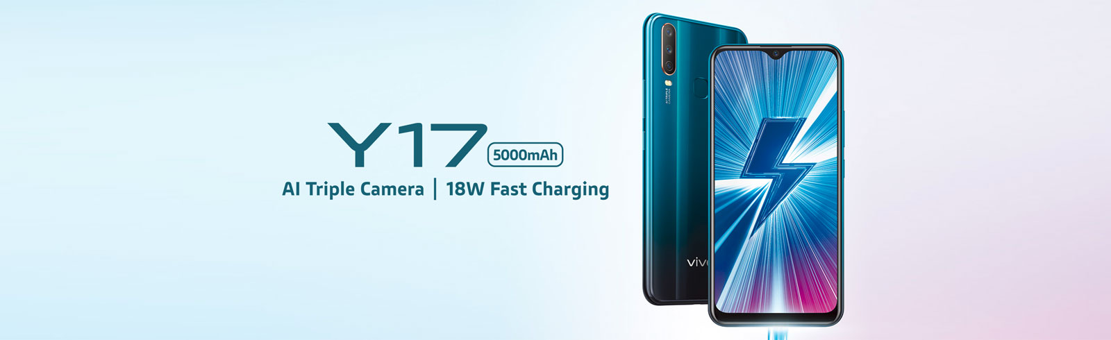 Vivo Y17 goes official with a 5000 mAh battery, triple cameras