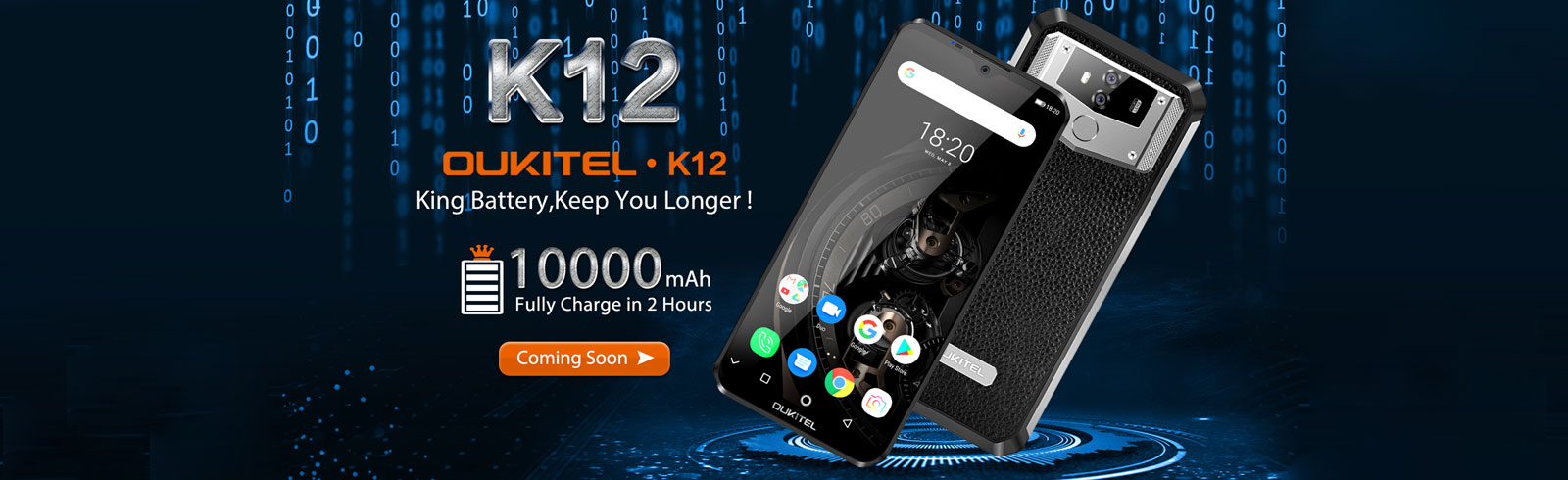 Oukitel K12 official specifications are confirmed