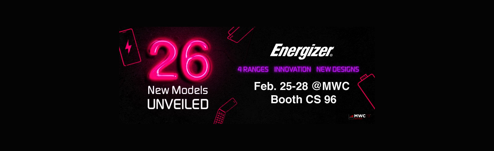 Energizer to present a foldable smartphone and a model with an 18000 mAh batter at the 2019 MWC