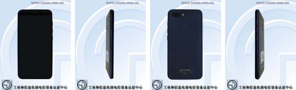 Gionee F6 is certified by TENAA, sports mid-range specs and two rear cameras