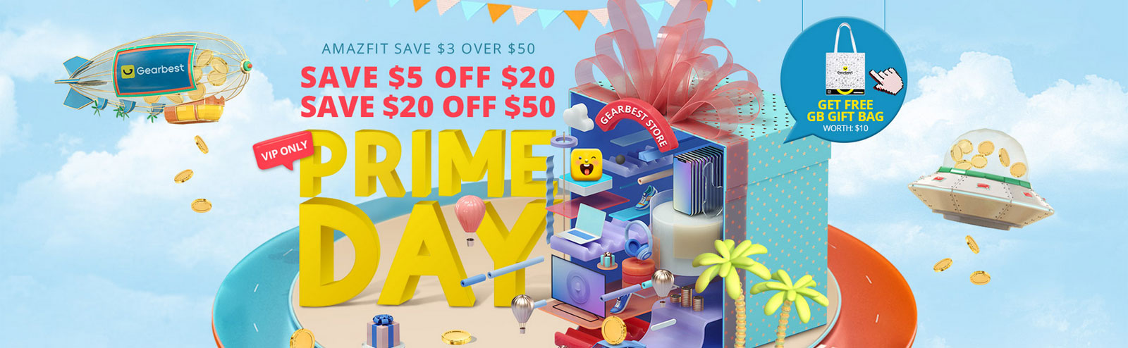 Xiaomi Mi 9T coupons and other smartphone deals during the GearBest Prime Day Special