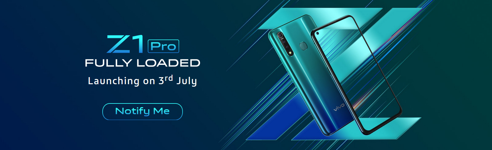 Vivo India has listed a launch page for the Vivo Z1 Pro, to be unveiled on July 3rd