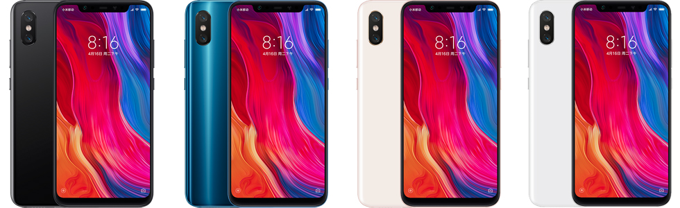 Xiaomi Mi 8 coupon deal, detailed overview of the design and specifications