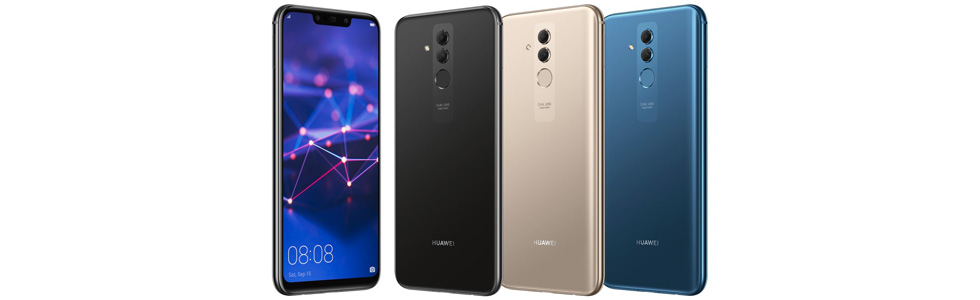 All colour variants of the Huawei Mate 20 Lite leak