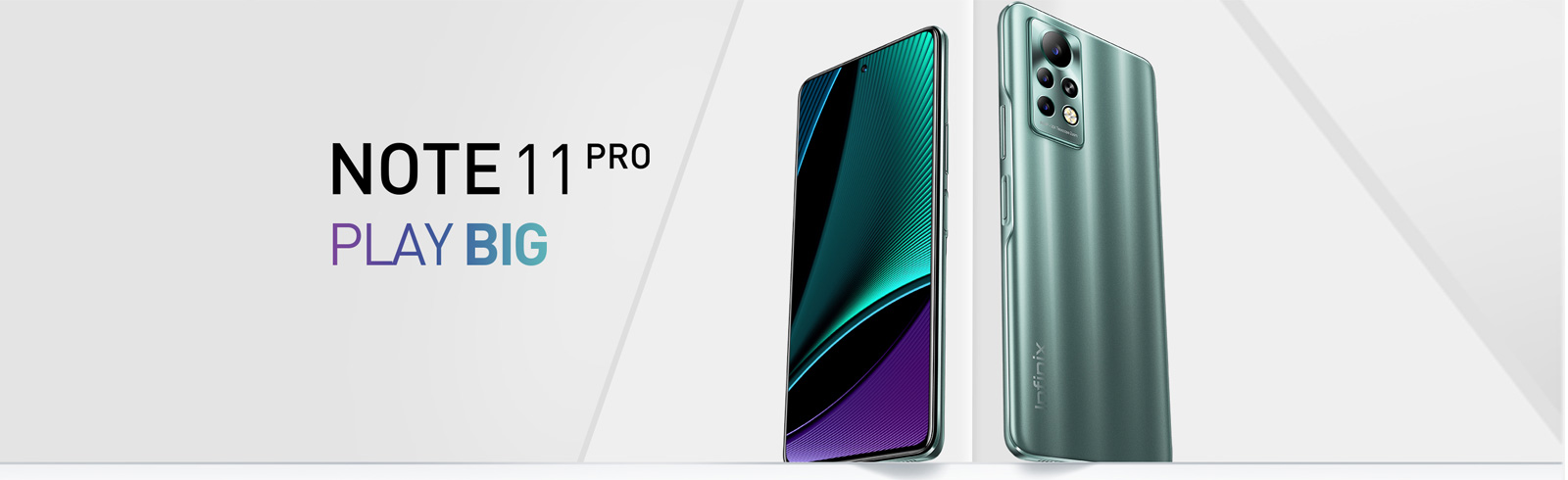 """Infinix Note 11 Pro goes official with a Helio G96 chipset, 6.95"""" FHD+ 120Hz display, 33 fast charging"""