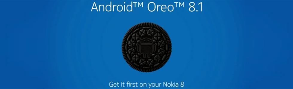 Nokia 8 starts receiving Android 8.1 Oreo