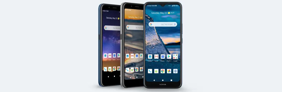 Nokia launches the C5 Endi, C2 Tava, and C2 Tennen in the US via Cricket Wireless