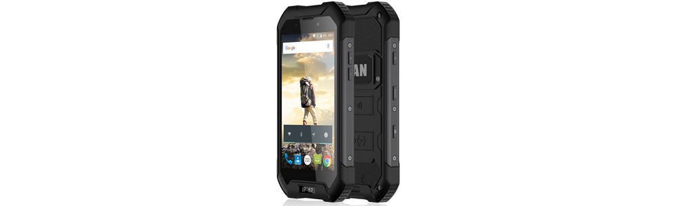 iMan X5 - a 3G rugged smartphone with IP67 certification and a $80 price tag