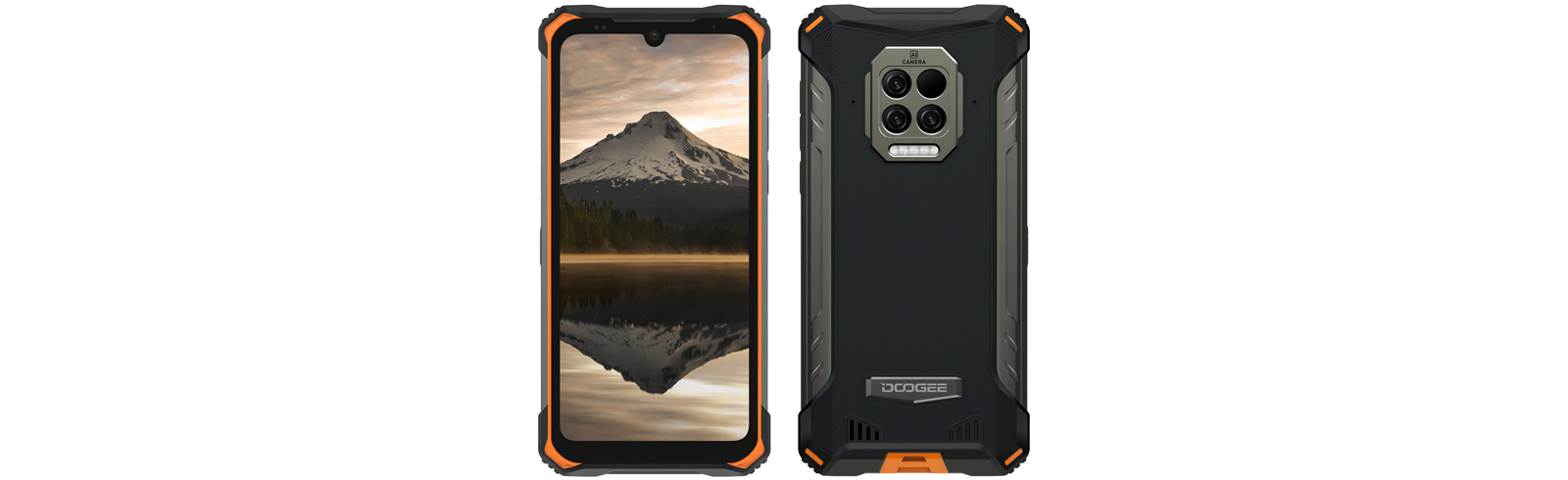 The rugged Doogee S86 Pro goes official with an infrared thermometer