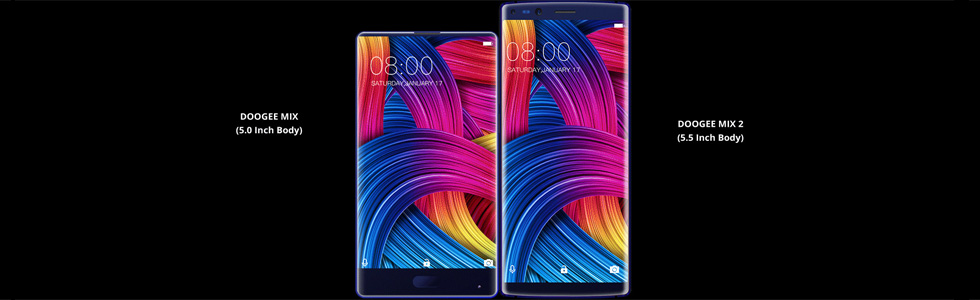 Doogee Mix 2 - full specifications are out