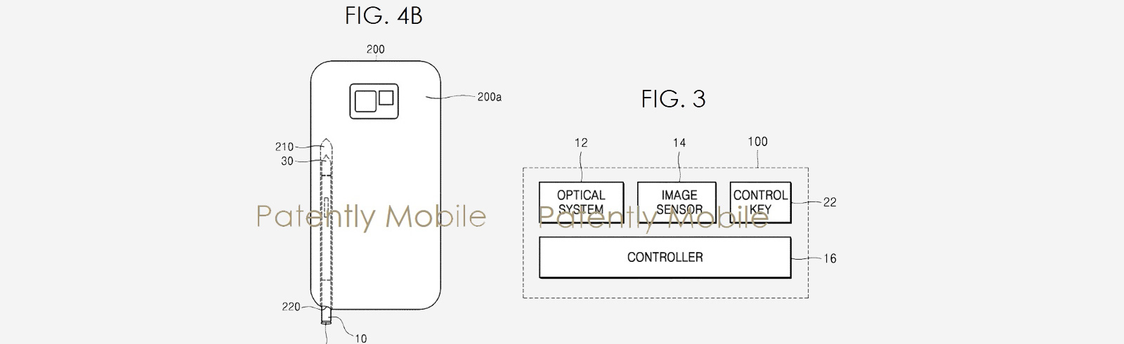A Samsung patent unveils an S-Pen with an integrated camera with superior optical zoom