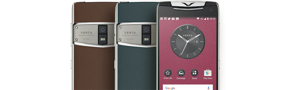 Vertu announces the Constellation (2017) - the first Vertu device with dual-SIM support