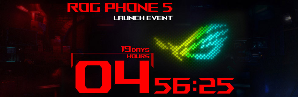 The Asus ROG Phone 5 will be unveiled on March 9