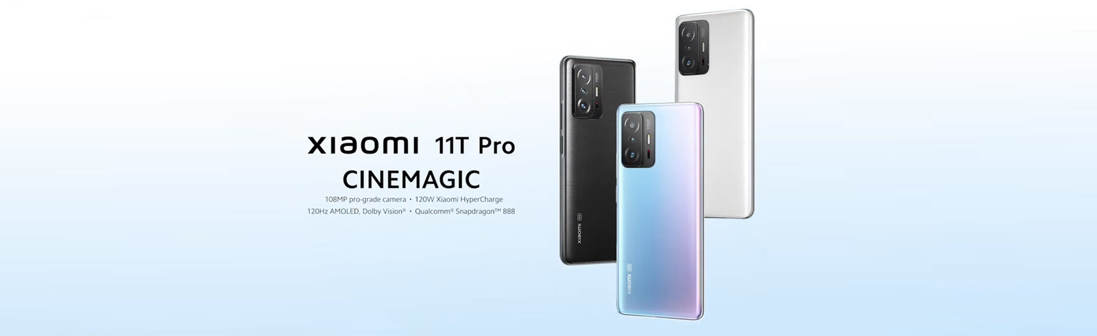 """The Xiaomi 11T and Xiaomi 11T Pro are unveiled with 6.67"""" AMOLED displays, 5000 mAh batteries"""